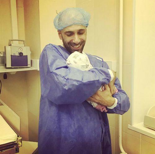 35-Летний евгений папунаишвили впервые стал отцом