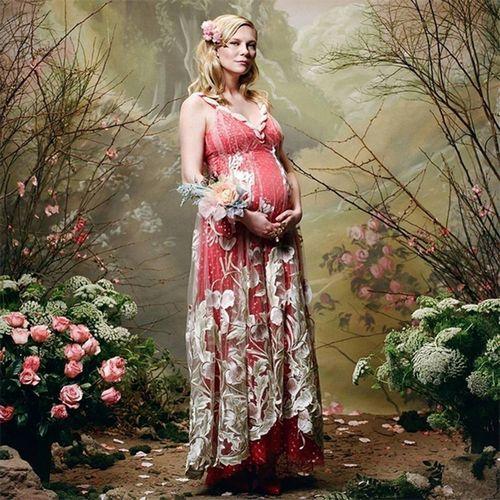 36-Летняя кирстен данст впервые стала матерью