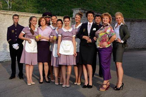 Александра урсуляк и юрий батурин нашли счастье в «отеле «президент»
