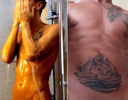 Алексей панин сделал татуировку над интимным местом