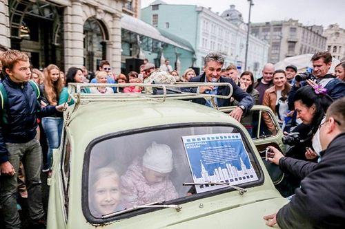 Алексей пиманов приехал на день города на «запорожце»