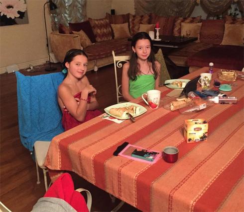 Анастасия волочкова привела дочь в баню