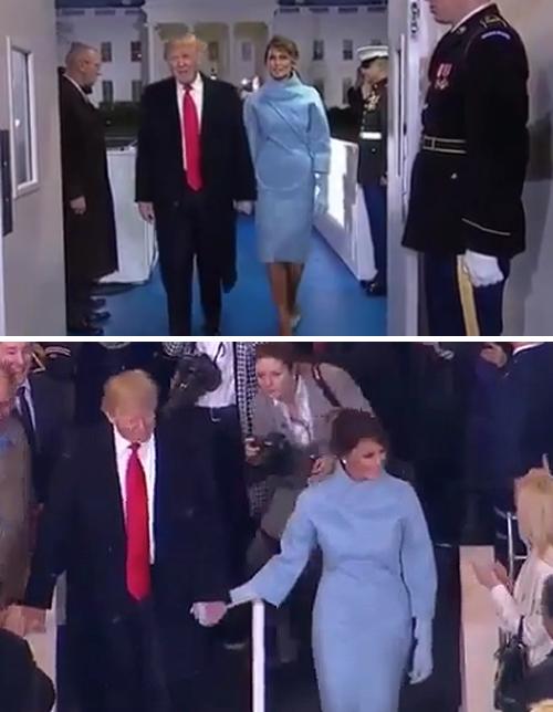 Бриджит макрон vs мелания трамп: первую леди франции уличили в модном плагиате