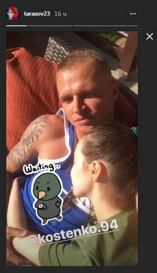 Дмитрий тарасов порадовал подписчиков интригующим снимком в stories instagram
