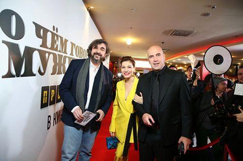 Елена подкаминская была самой яркой на премьере «о чем говорят мужчины. продолжение»