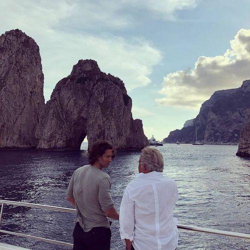 Гвинет пэлтроу и брэд фэлчак отдыхают в италии в преддверии свадьбы