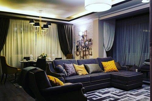 «Идеальный ремонт» переделал для юлии барановской гостиную в новой квартире