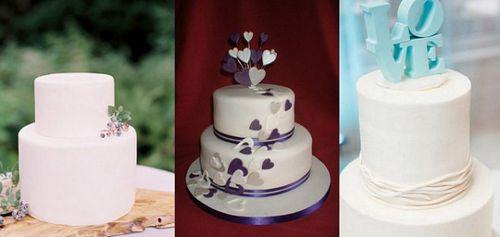 Идеи для свадебных тортов