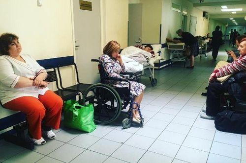 Ирина пегова была вынуждена экстренно обратиться за медицинской помощью