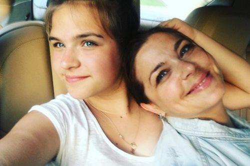 Ирина пегова опубликовала трогательное фото с 11-летней дочерью