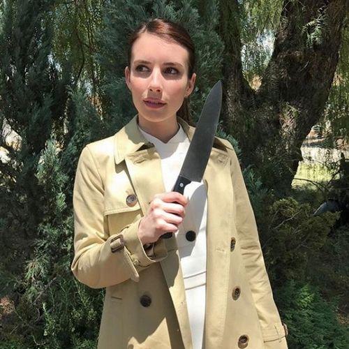 Эмма робертс вернулась в культовый сериал «американская история ужасов»