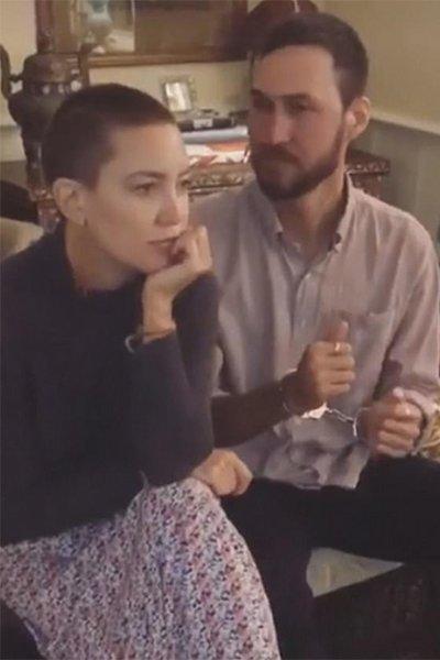 Кейт хадсон побрилась наголо ради роли в фильме