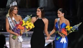 Конкурс «мисс вселенная» закончился скандалом