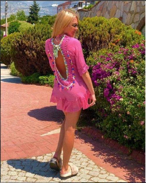 Красивое короткое платье и меховые шлепки дарьи пынзарь удивили фанатов