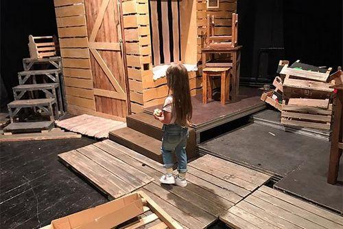 Кристина асмус надеется, что дочь не захочет стать актрисой