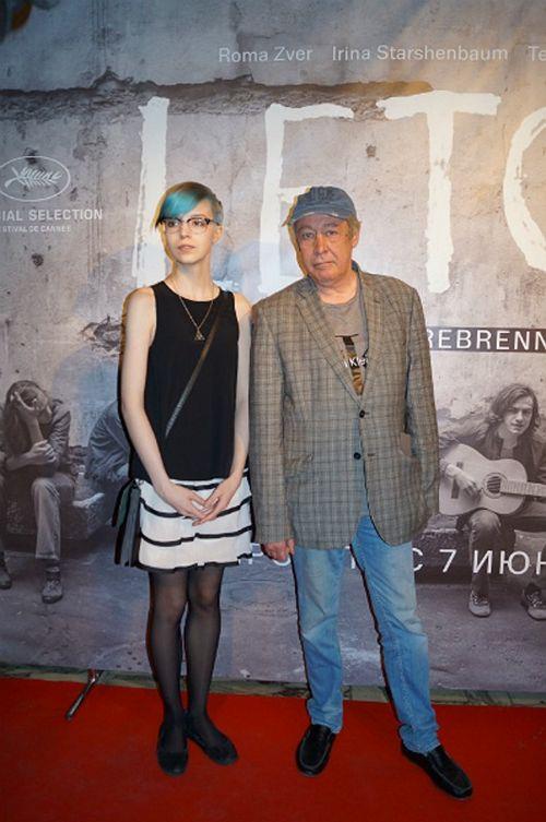 Михаил ефремов вывел в свет свою 17-летнюю дочь, которая хочет стать актрисой
