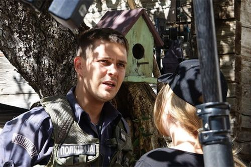 Милоша биковича на съемках боевика «балканский рубеж» задело гильзой от пулемета