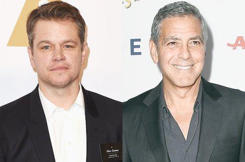 Мэтт деймон рассказал, как уговаривал джорджа клуни никому не рассказывать о беременности амаль клуни - «культура»