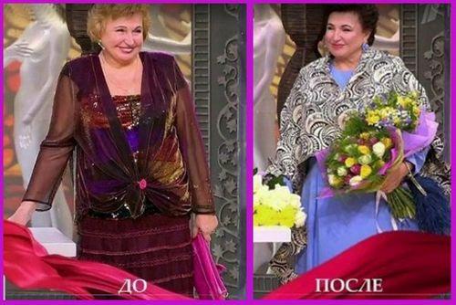«Модный приговор» преобразил актрису галину коньшину