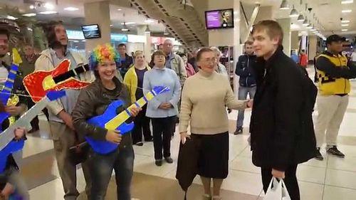 Москва встретила пако рабанна