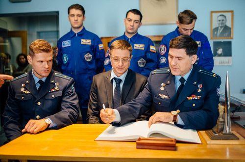 На первом канале стартует сериал «частица вселенной» о жизни космонавтов