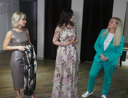 Наталия гулькина выбрала платье для выпускного вечера