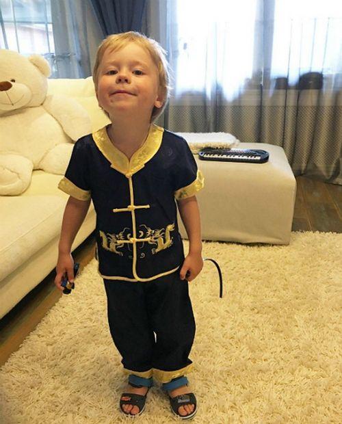 Наталья подольская трогательно поздравила сына с 3-летием