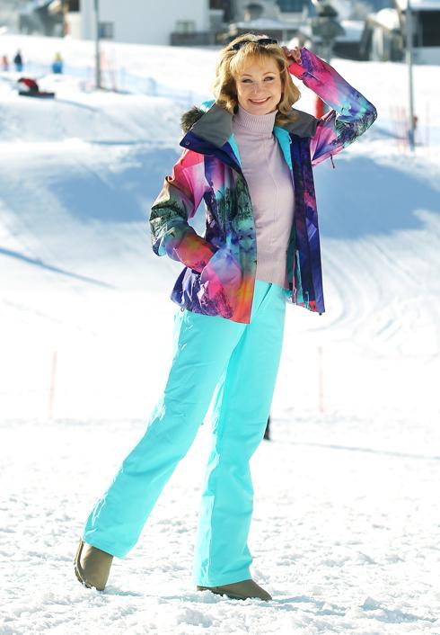 Ольга прокофьева и сергей чирков встали на сноуборд