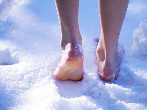 Особый уход за ножками в зимний период