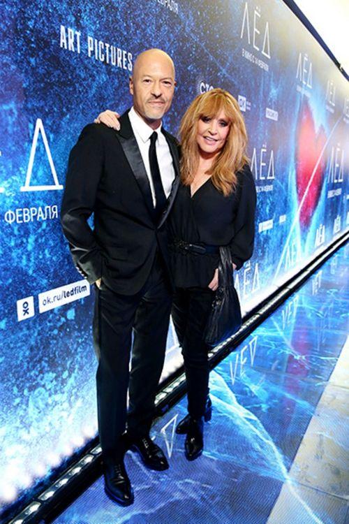 Паулина андреева поддержала федора бондарчука на премьере фильма «лед»