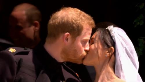 Первые фото сказочной свадебной церемонии принца гарри и меган маркл появились в сети
