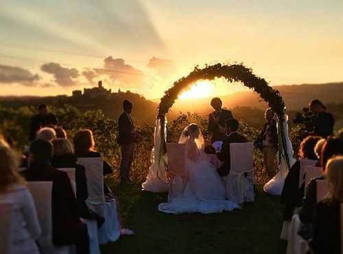 Сати казанова и стефано тиоццо сыграли вторую свадьбу в италии