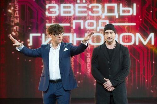 Шоу «звезды под гипнозом» вторую неделю подряд удерживает 1-е место в рейтинге телепрограмм