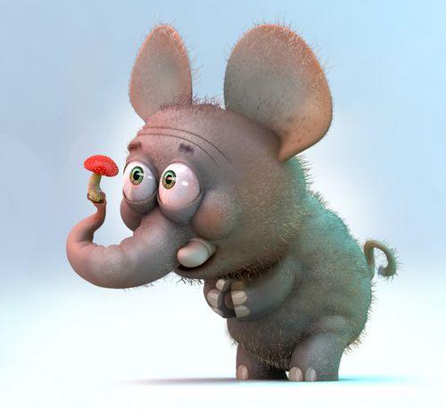 Слон в октябре