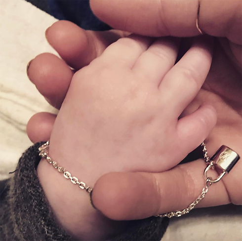 Собчак опубликовала первое фото сына
