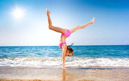 Спорт на пляже
