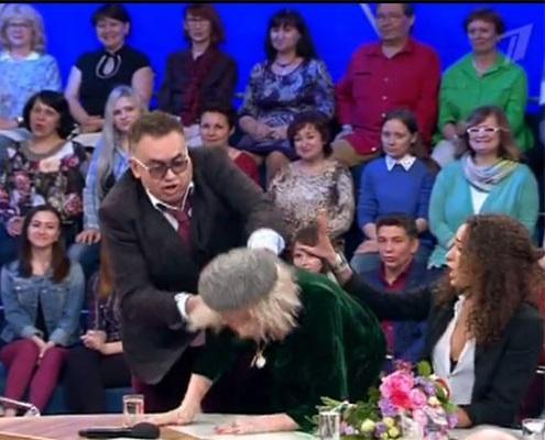 Стас садальский и татьяна васильева подрались на съемках ток-шоу