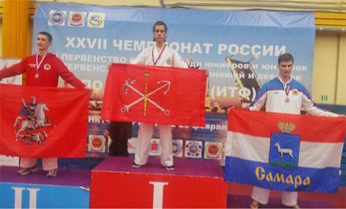 Сын дениса клявера стал чемпионом россии по тхэквондо
