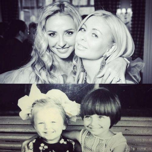 Татьяна навка показала детское фото с сестрой