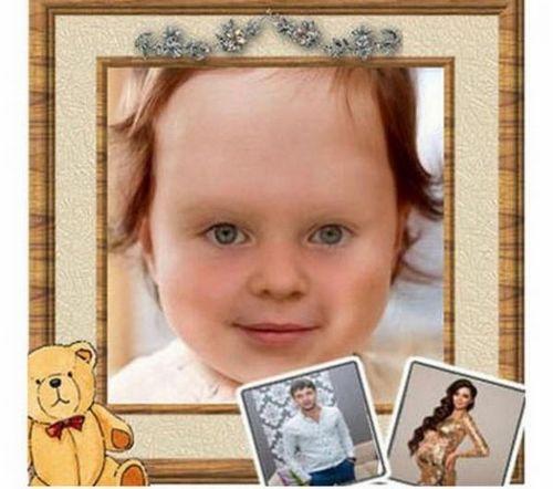 Телезрители воссоздали лицо новорожденной дочери ольги рапунцель и дмитрия дмитренко