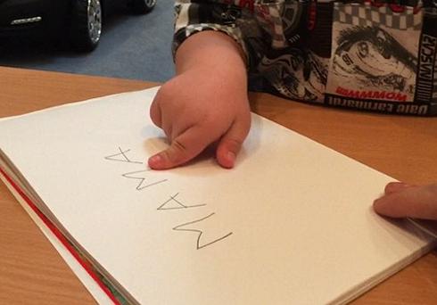 Трехлетний сын эвелины бледанс научился читать
