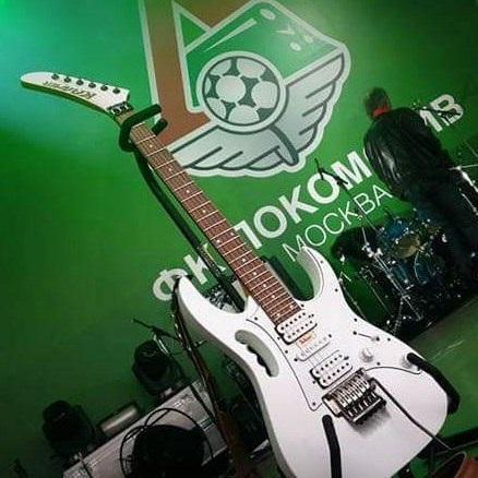 У гитариста группы «бахыт-компот» украли уникальный инструмент