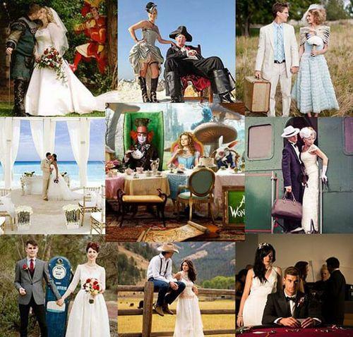 В каком стиле оформить свадьбу