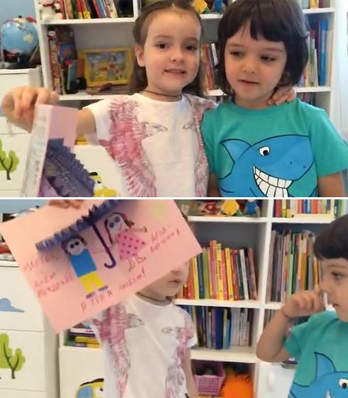 Видео с дочерью и сыном киркорова взбудоражило сеть