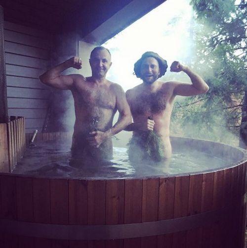 Внезапно: ираклий пирцхалава сделал фото в бане, как у анастасии волочковой
