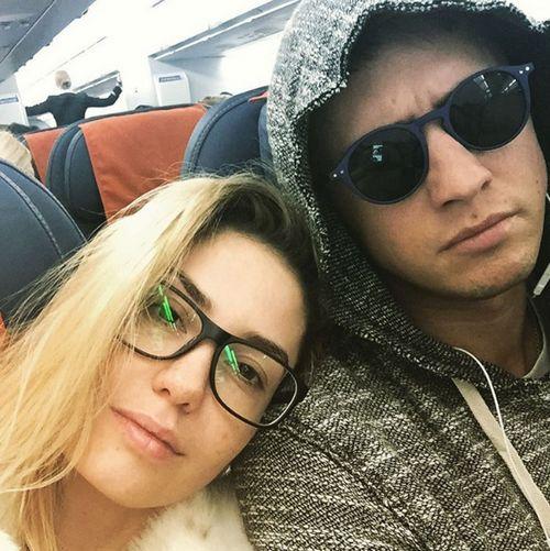 Звезда сериала «мажор» павел прилучный с женой улетел в отпуск